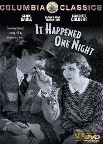 一夜风流(It Happened One Night)海报