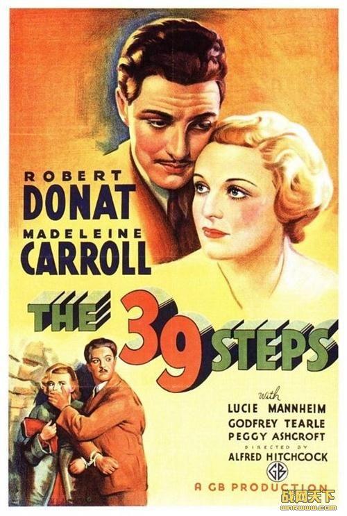 三十九级台阶/国防大秘密(1935年版)