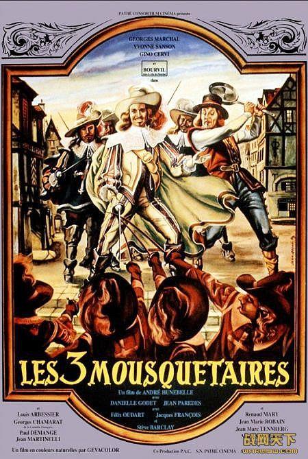 三剑客/三个火枪手(1953年彩色版)