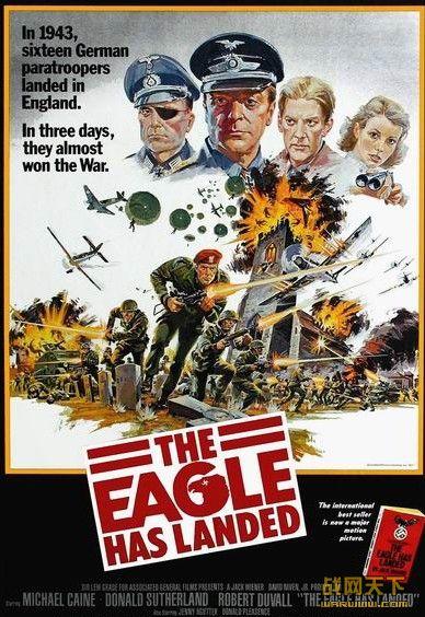 猛鹰雄风/猛鹰突击兵团 (The Eagle Has Landed)海报