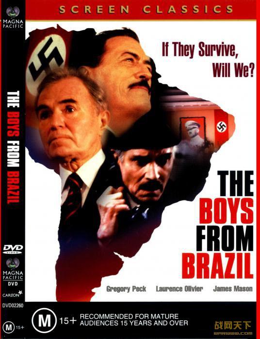 纳粹大谋杀/纳粹狂种/巴西来的孩子(The Boys from Brazil)海报