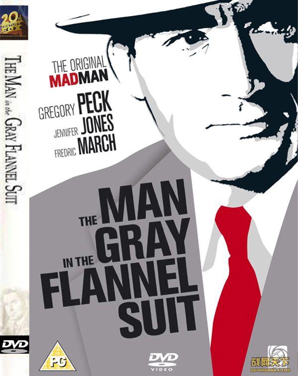 一袭灰衣万缕情/穿灰色法兰绒外套的男人/穿法兰绒外套的人