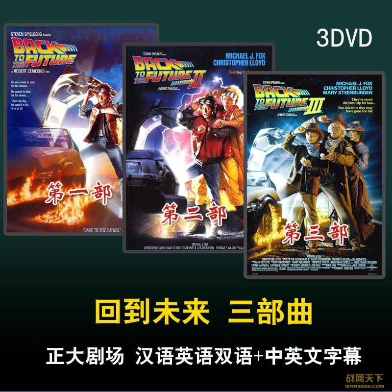 回到未来 三部曲 正大剧场(Back to the Future)海报