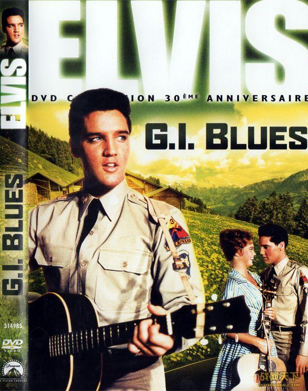 军营蓝调(G.I.BLUES)海报