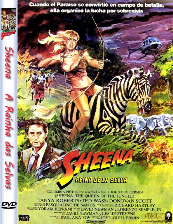 森林女王/蛮荒奇女 完整版(Sheena A Rainha das Selvas)海报