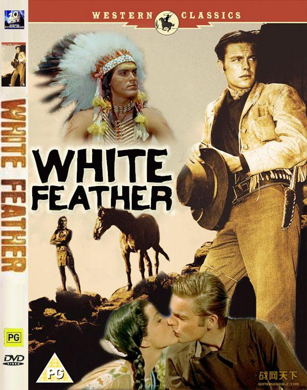 白羽毛(White Feather)海报