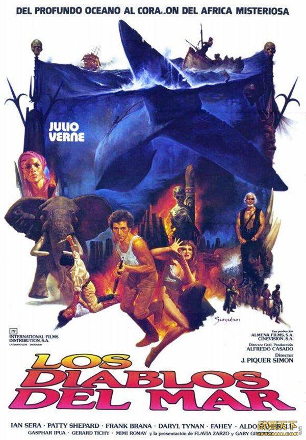 海魔(Los Diablos Del Mar)海报