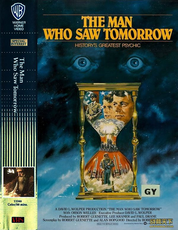 惊世启示录(The Man Who Saw Tomorrow)海报