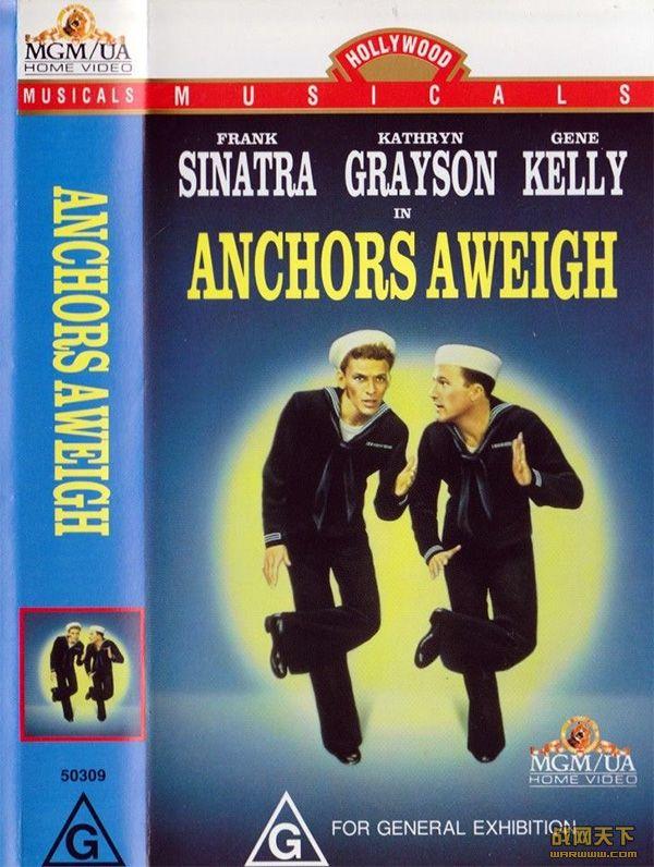 起锚(Anchors Aweigh)海报