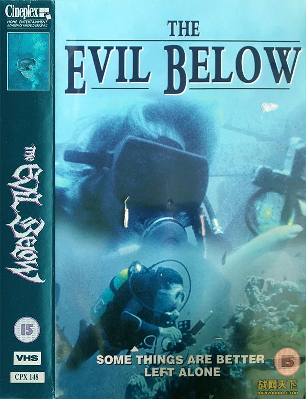 海底魔船(The Evil Below)海报