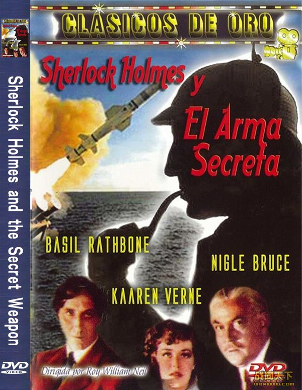 秘密武器(Sherlock Holmes and the Secret Weapon)海报