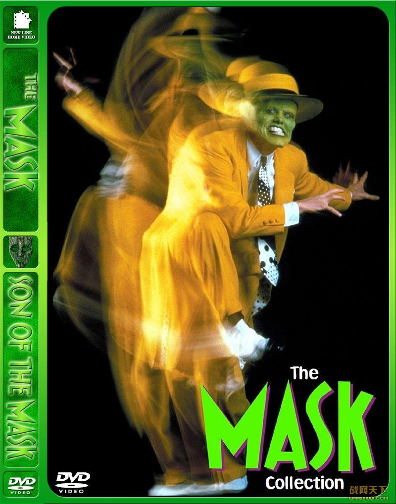 变相怪杰(The Mask)海报