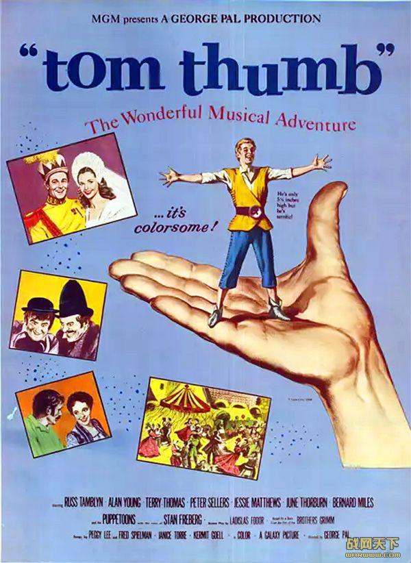 拇指汤姆(Tom Thumb)海报