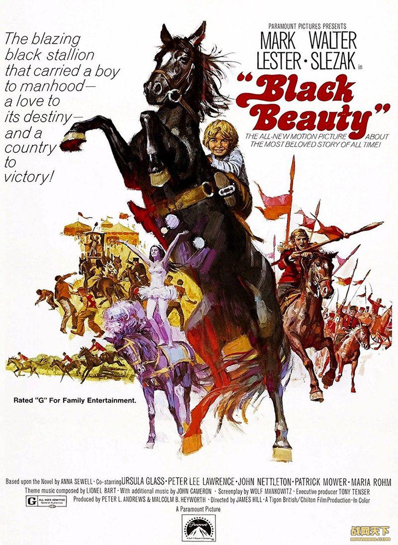 千里黑驹(Black Beauty)海报