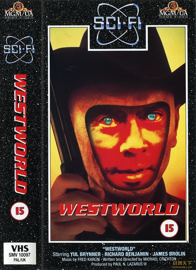 西部世界(Westworld)海报