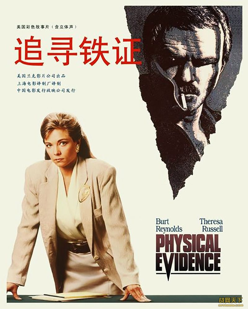 追寻铁证(Physical Evidence)海报