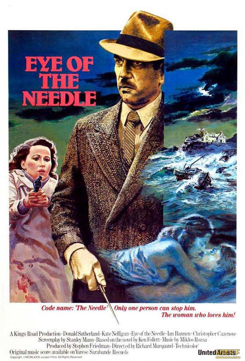 针眼(Eye of the Needle)海报