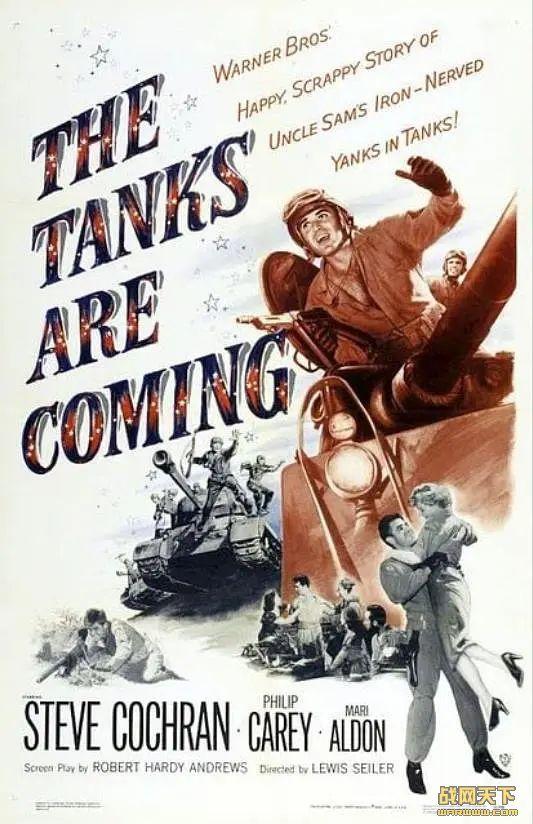 坦克战群 (The Tanks Are Coming)海报