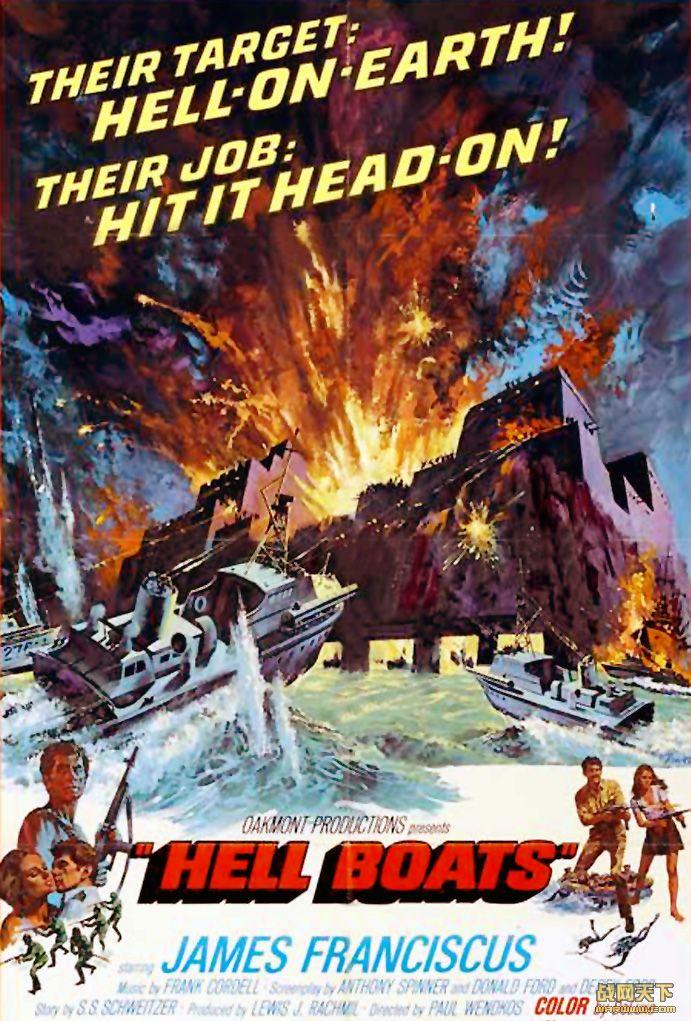 地狱船/地狱快艇(Hell Boats)海报