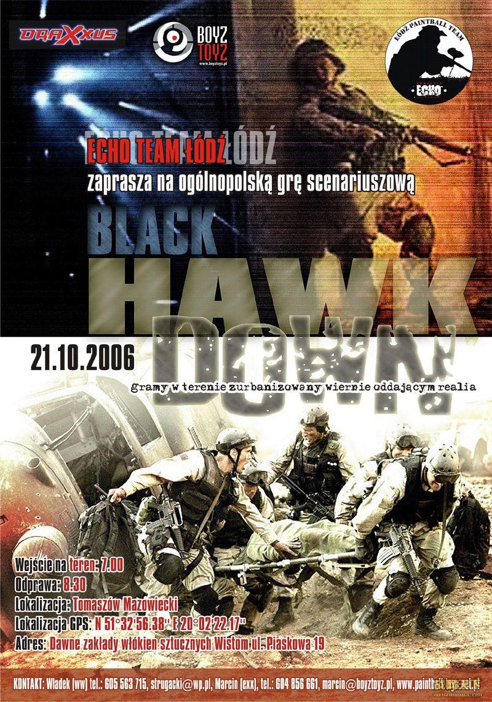 黑鹰坠落(Black Hawk Down)海报